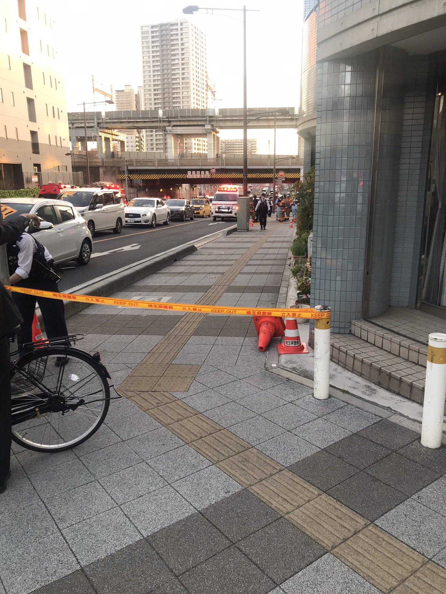 大宮区吉敷町で犯人が逃走している殺人未遂事件の画像