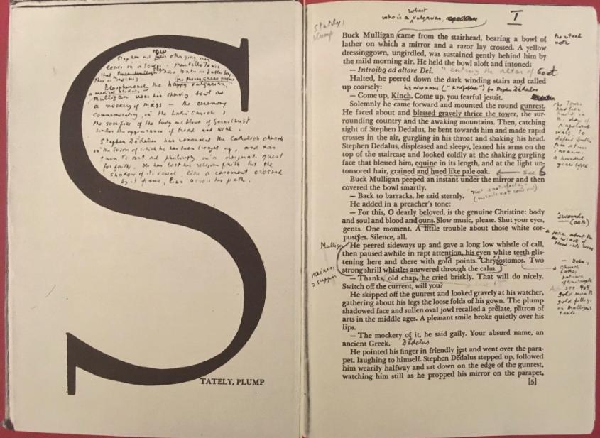RT @johnstonglenn: Vladimir Nabokov's annotated teaching copy of Ulysses (1934 Random House). https://t.co/YKZurwlaGb