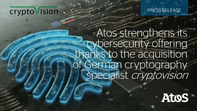 Wir freuen uns sehr über diese Neuigkeiten: Der deutsche Kryptografie-Spezialist...
