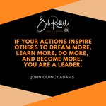 """Image for the Tweet beginning: """"If your actions inspire others"""