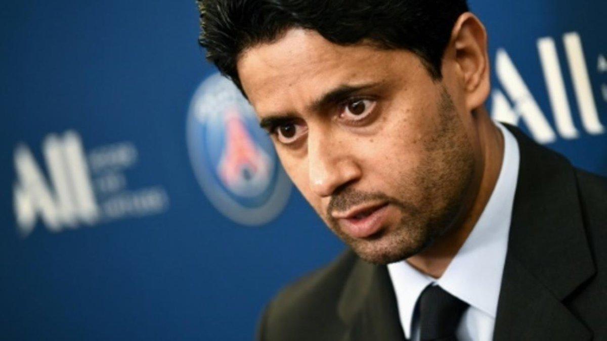 تعيين القطري ناصر الخليفي مدير نادي باريس سان جرمان الفرنسي رئيسا لرابطة الأندية الأوروبية