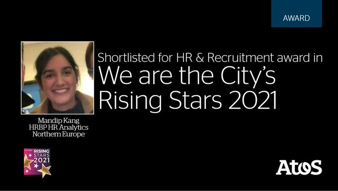 We're proud of Mandip Kang for being shortlisted in the Rising Star Awards 2021...