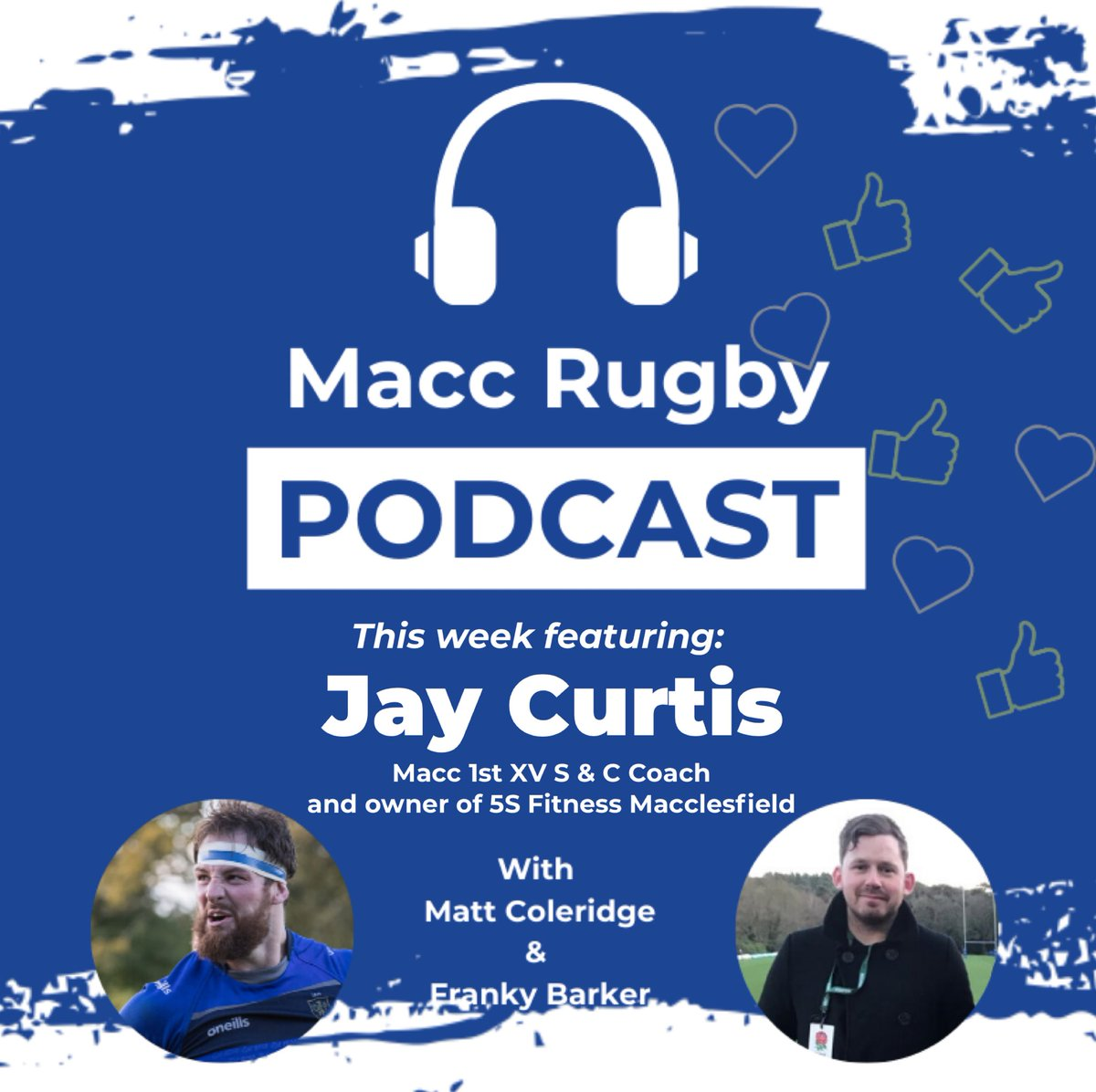 test Twitter Media - NEW POD OUT NOW! 1st XV S & C Coach and owner of @5sitness Jay Curtis tells us about his road to owning his own gym and gives you some tips for how to get fit going forward!! See https://t.co/Vt8gvcjPUG or visit https://t.co/I3VEG4yERy for more details! https://t.co/a8RjTKmLcm