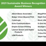 Image for the Tweet beginning: Congratulations to our Sustainable Business