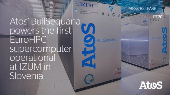 BullSequana von #Atos unterstützt ersten #EuroHPC-Supercomputer am Institut für Informationswi...
