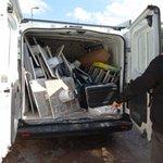 Image for the Tweet beginning: #notizie #sicilia Abbandono illecito di rifiuti,