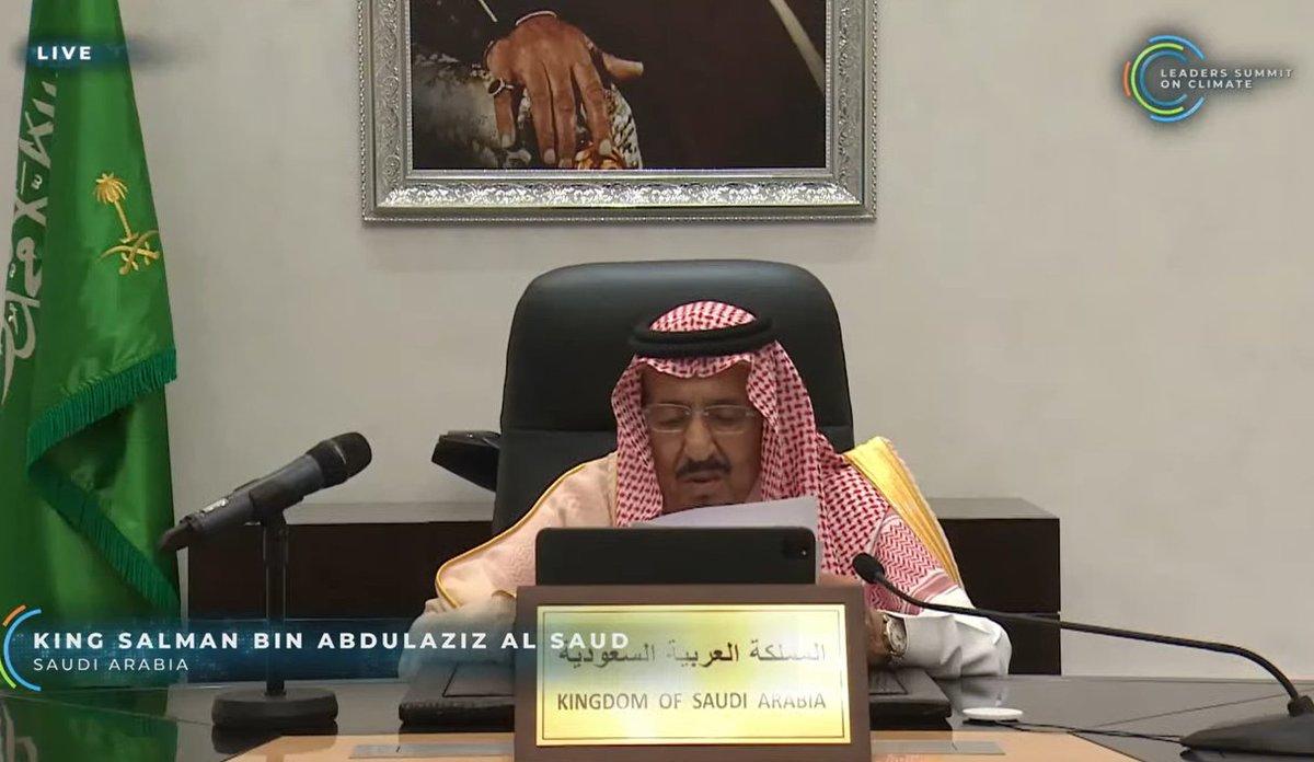 Saudi Arabia 50% Renewable Target (i think) ....
