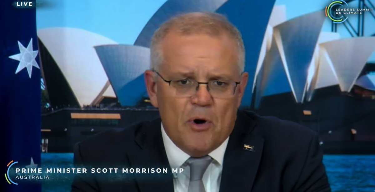 """Australia has done 'more than most economies' - no it hasn't. Unless you include accounting tricks. Claiming emissions dropped """"36% if you exclude exports"""" - WHAT? They are trying to exclude coal and gas emissions? Australia the largest coal and LNG exporter in world?"""