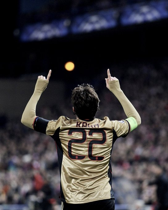 There s levels. Then there s Kaka.   Happy birthday to an all-time great. ///