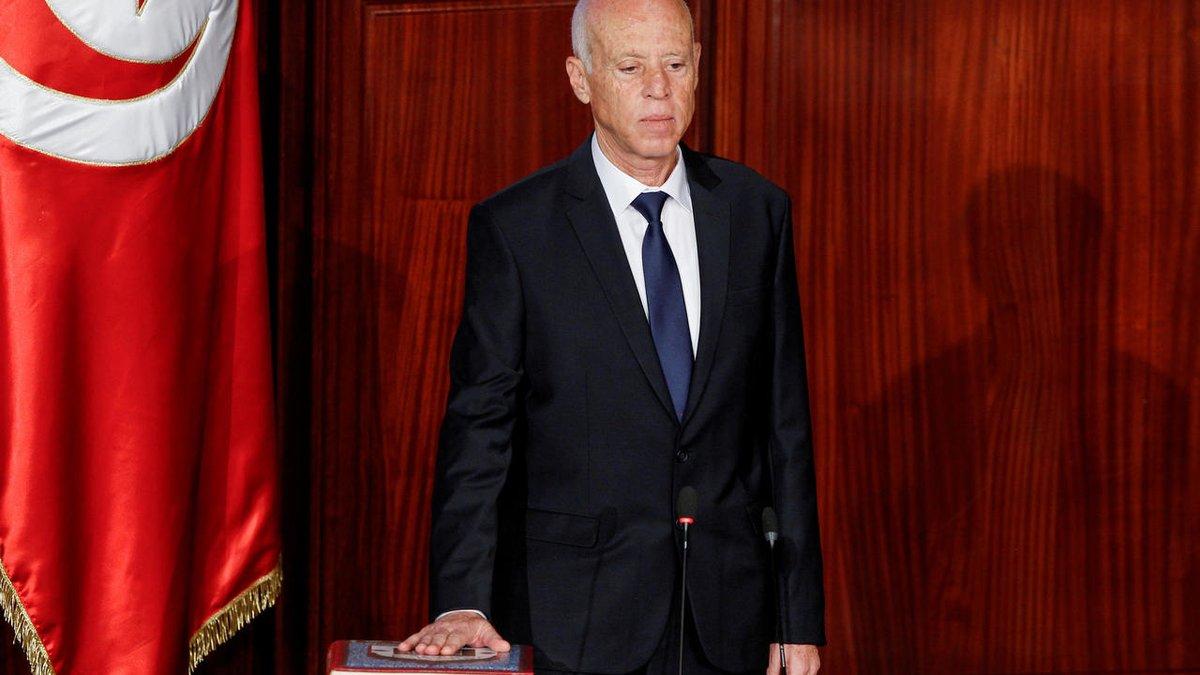 الولايات المتحدة تنفي تمويل الحملة الانتخابية للرئيس التونسي قيس سعيد