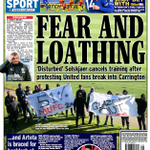 Image for the Tweet beginning: Friday's @DExpress_Sport back page   #TomorrowsPapersToday