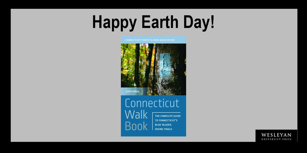 """test Twitter Media - Happy Earth Day! Celebrate by checking out """"Connecticut Walk Book,"""" the ultimate guide to Connecticut's extensive public trails system. Read more here: https://t.co/b0WZu3LZ6r #EarthDay #hiking #walking #CTstateparks #CFPA #nature https://t.co/OrZnrmaK3E"""