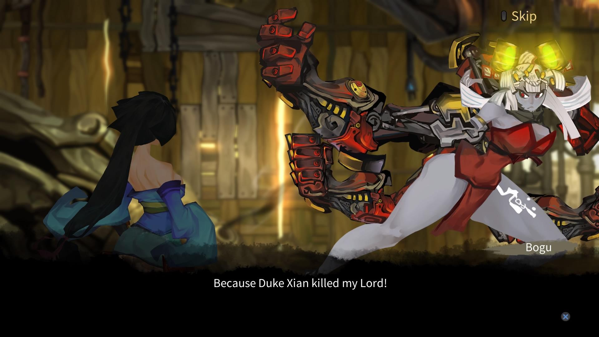Bladed Fury reseña juego chino análisis