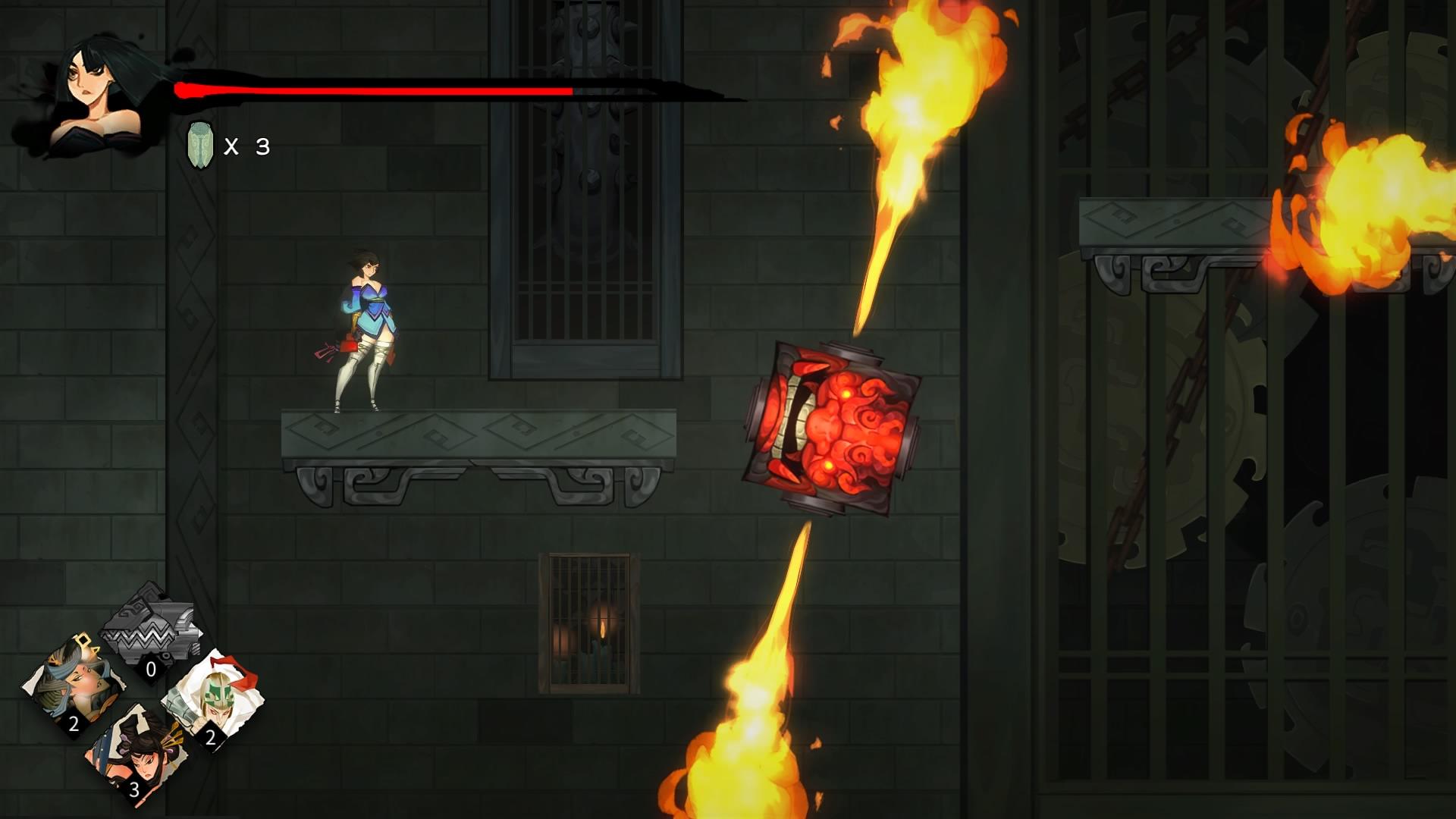 Bladed Fury reseña juego chino