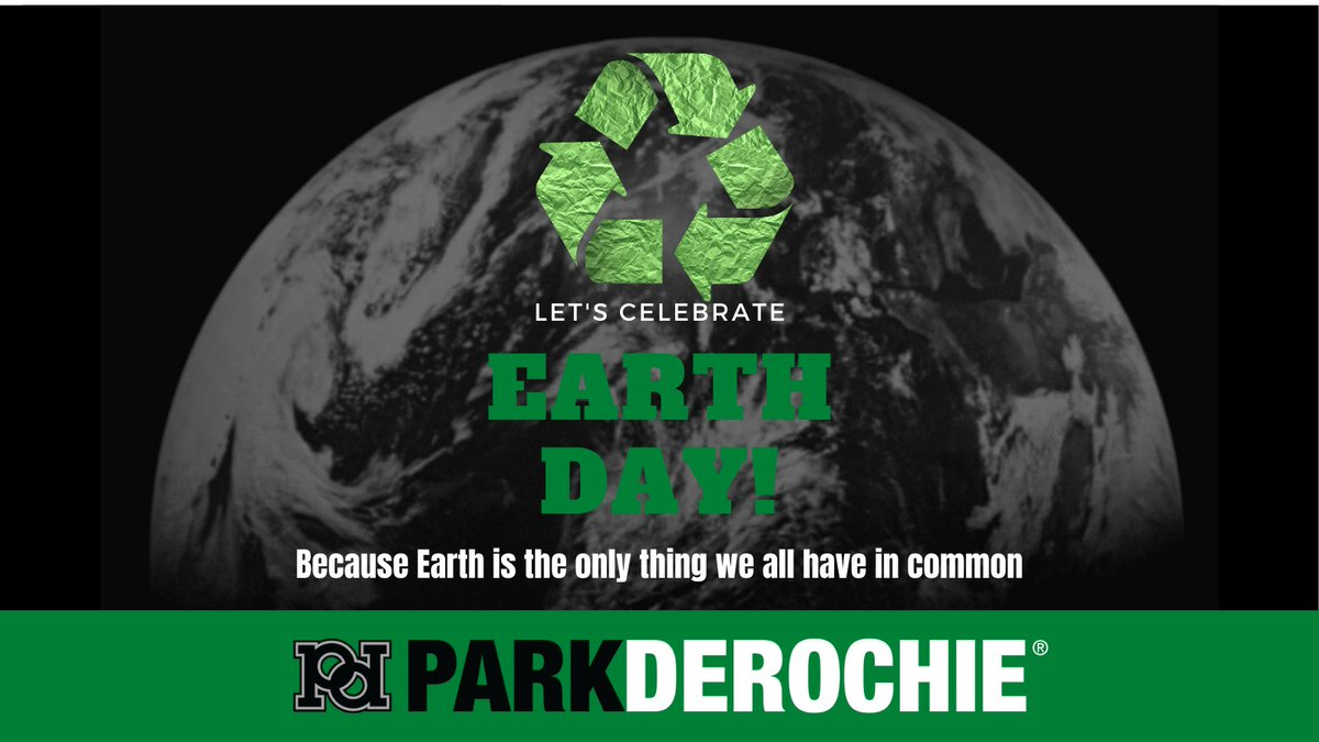 Today we celebrate #EarthDay!  Park Derochie has always been committed to innovation, sustainability, and the #environment in all of our communities across North America! 🌎💚  #EarthDay2021 #Sustainability #ReduceReuseRecycle