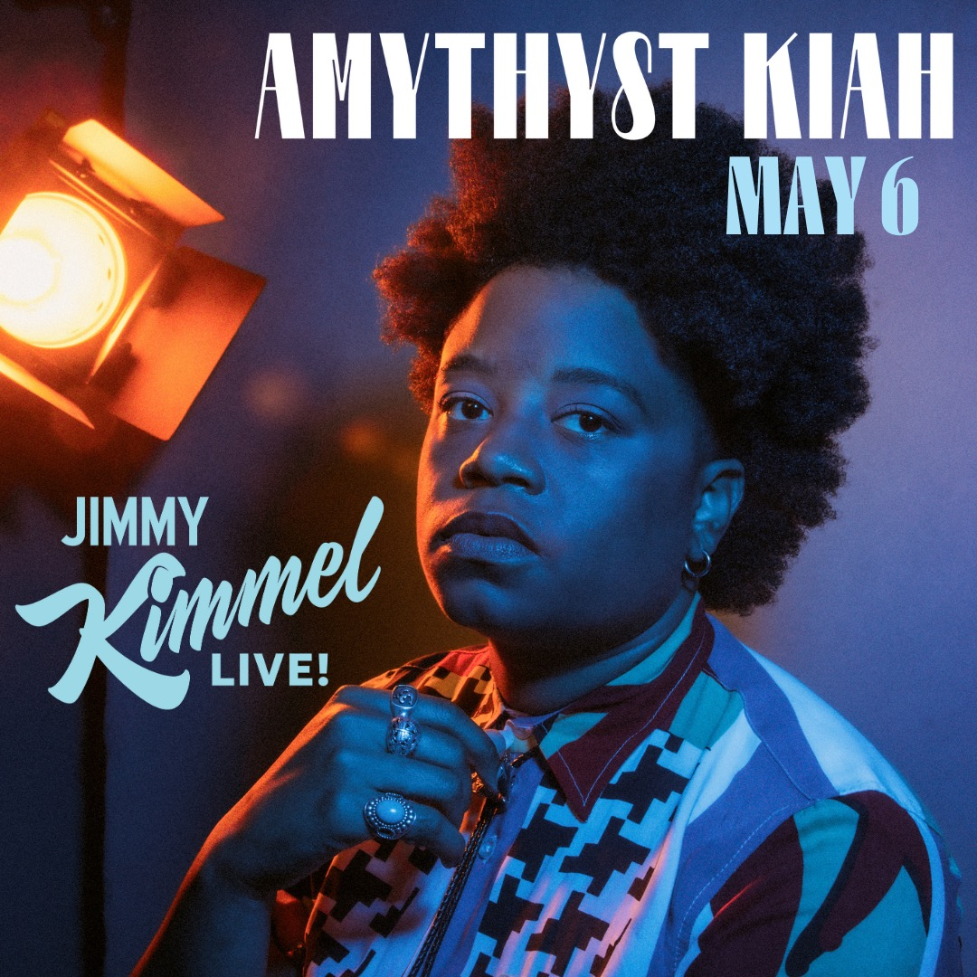 I am thrilled to announceI'll be performing on @JimmyKimmelLive on May 6th!Tune in at 11:35/10:35c.🙏🏾✌🏾🖤 https://t.co/iAz3SGHzuC