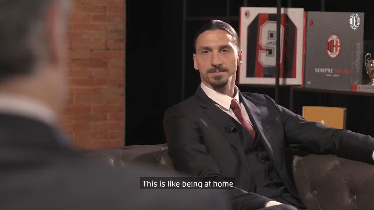 @acmilan's photo on Zlatan
