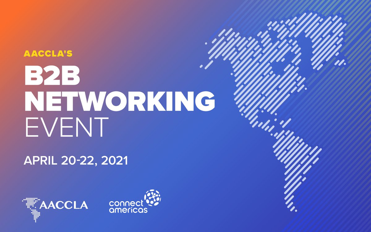 test Twitter Media - The #AACCLA B2B/Networking Event has concluded. TY to all attendees! The event featured 325+ companies from across the #WesternHemisphere for a total of 150 business meetings. TY to @the_IDB @connectamericas  and the #AmChams of #LatinAmerica & #Caribbean for a successful event. https://t.co/BTLoxvFH5R