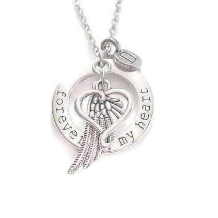 FOREVER in MY HEART Initial Memory necklace, 24 inch Unisex https://t.co/SdCyU462Cy ##bhfypy ##jewelryforsale #handcraftedjewelry ##jewelrystore ##handmadejewelry #jewelryforme ##jewelryshop #LadybugfeetJewelryDesigns ##jewelrytrends #jewelry #Trending https://t.co/NrqFHjyLnb