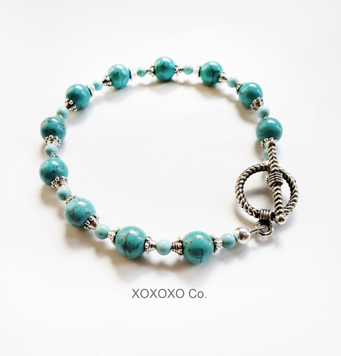 Dainty Turquoise Bracelet with Silver Spacer Beads Southwest Jewelry Design https://t.co/4euOBvBoA8 #jewelryblogger #giftidea #handmadejewelry #fashion #handmade #giftideas #style #Etsy https://t.co/u9NM69KmlU
