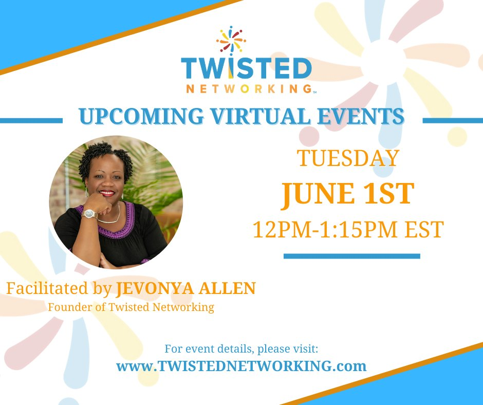 Come grow your network with us!!  https://t.co/xX9nbK5WFM  #networking #virtualnetworkingevents #business #entrepreneur #smallbusiness #startup #relationships #connect #create #friends https://t.co/zyHn64mydC