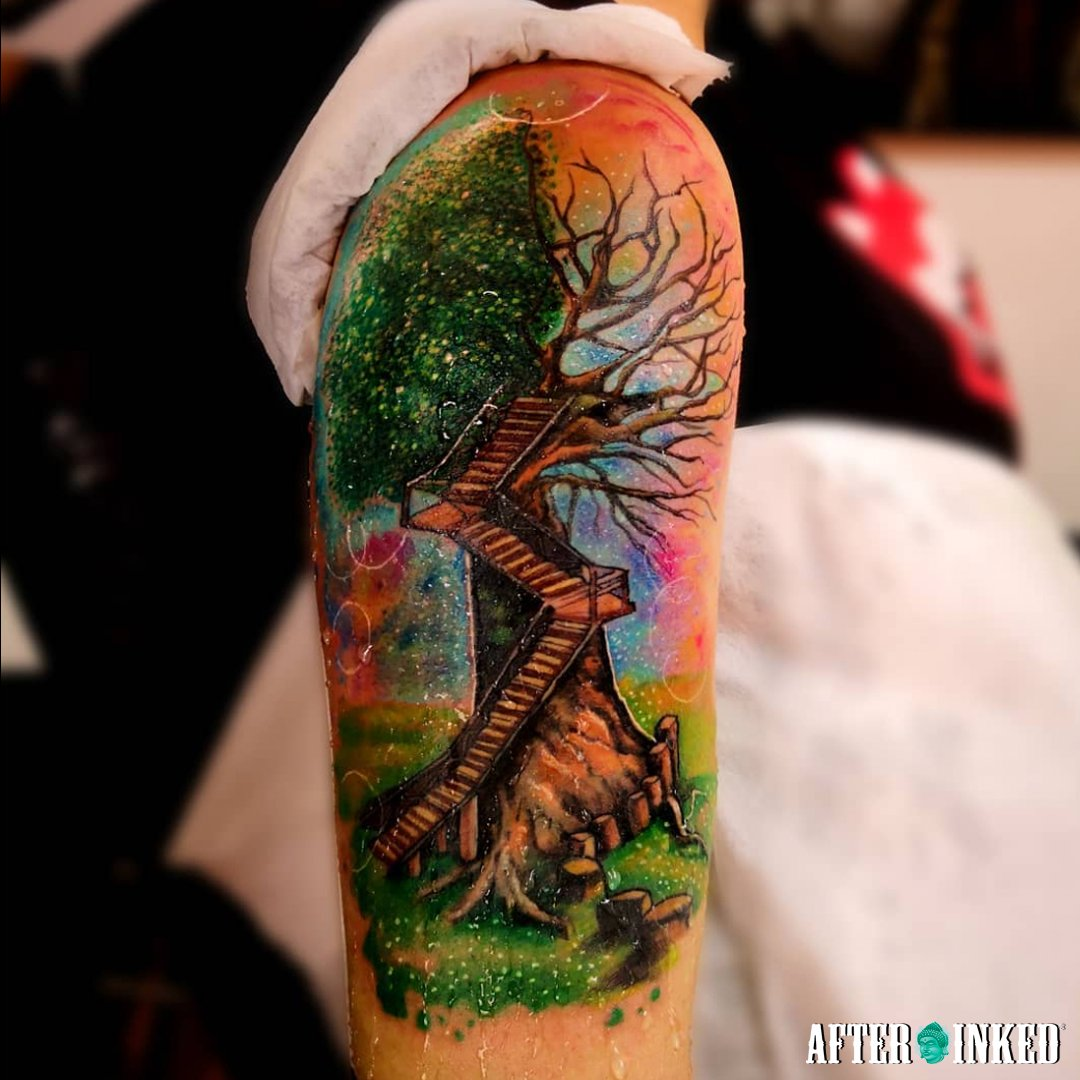 Celebrating our Planet Earth! We need to protect it! #EarthDay #EarthDay2021 #earthdayeveryday #afterinked #proudusers #formulatedforperfection #afterinkedeveryday #tattooaftercare #vegan #earth #nature #recycle #happyearthday #jose.luistattoo #erik_ez_campbell #teo_tatt2 https://t.co/m2a6dUklSL