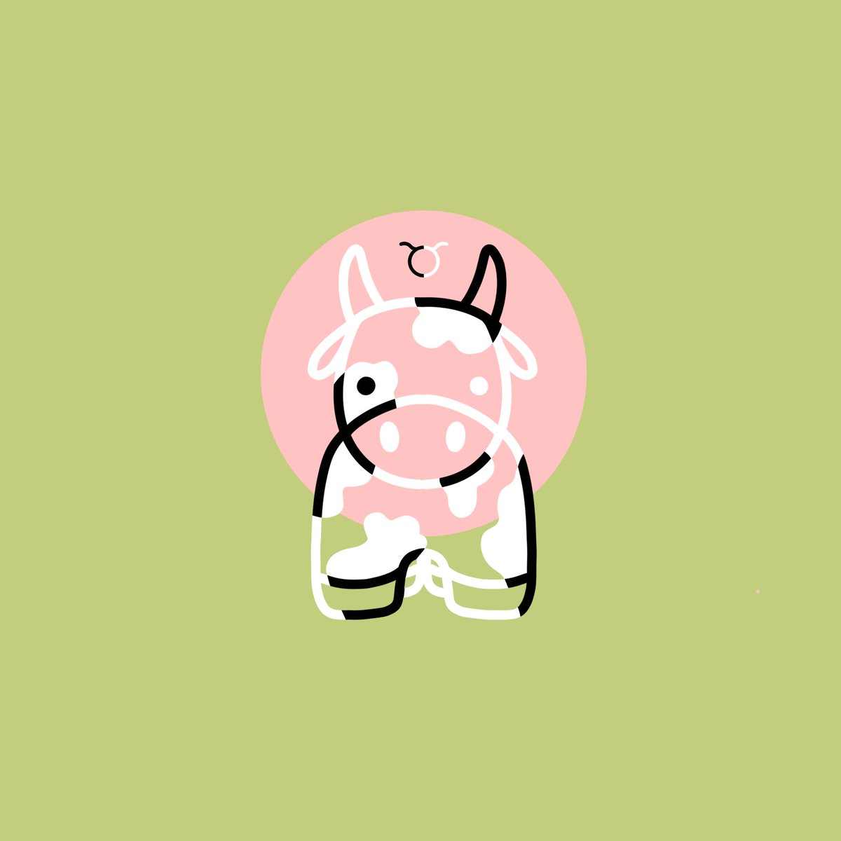 earth day is during taurus szn for a reason ✌️  love,  the best earth sign 🌱✨  #EarthDay #TaurusSeason #zodiac #bull #cow #cute #digitalart #art #graphicdesign #taurus #Horoscope #illustration #digitalillustration #doodle https://t.co/5vclhJWKOi