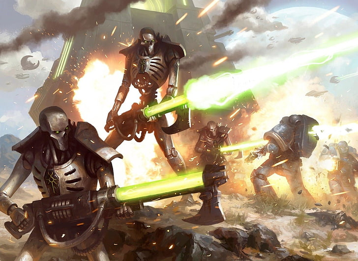 Who would win? A Necron Warrior or the T-800 terminator? #game https://t.co/Hn5FS3YJXM