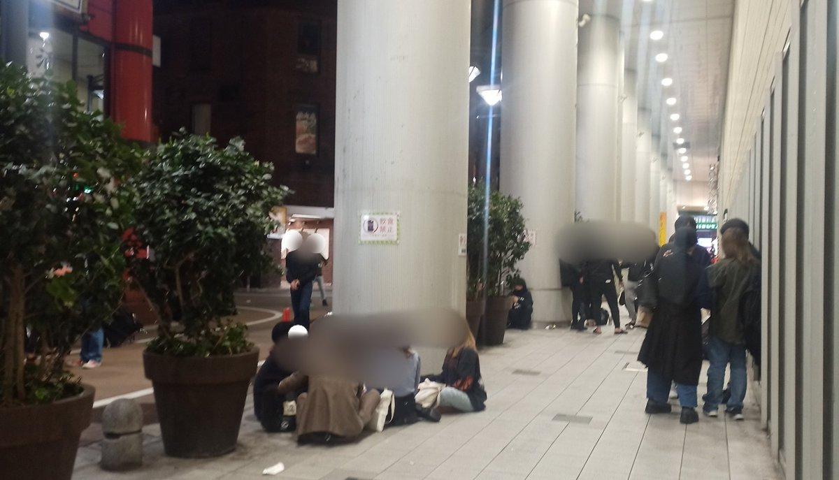 もはや無法地帯?夜の渋谷のマークシティ裏がマッドシティ化する!