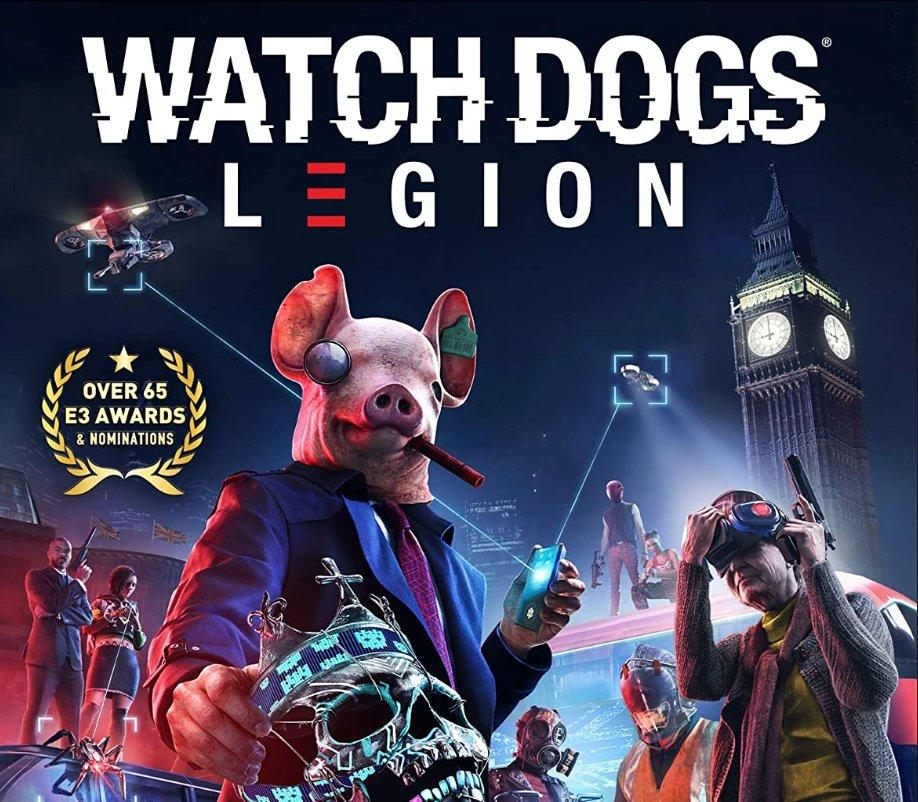 Watch Dogs: Legion PS5 $29.99   Amazon USA 2