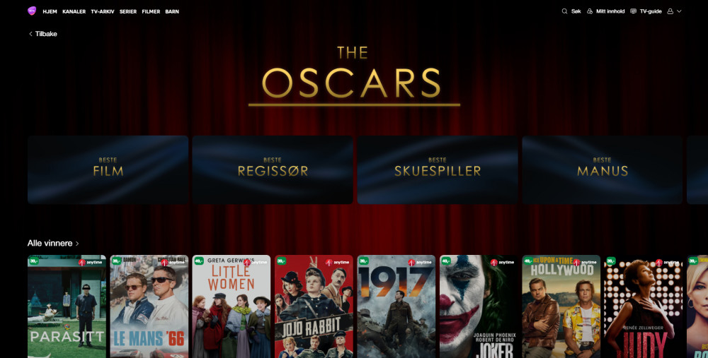 The Oscars-fest på Telia Play https://t.co/bibRZfOE7x https://t.co/SZFHBaJVaa