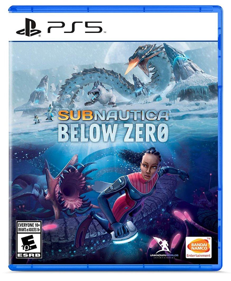 Subnautica: Below Zero PS5 $29.99  Amazon USA 2