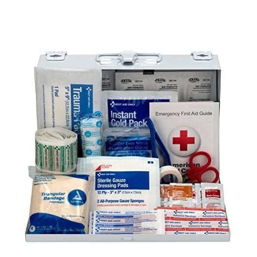 ad: $21 (40% off)   178-Piece Contractor's First Aid Kit    Link0 Link0