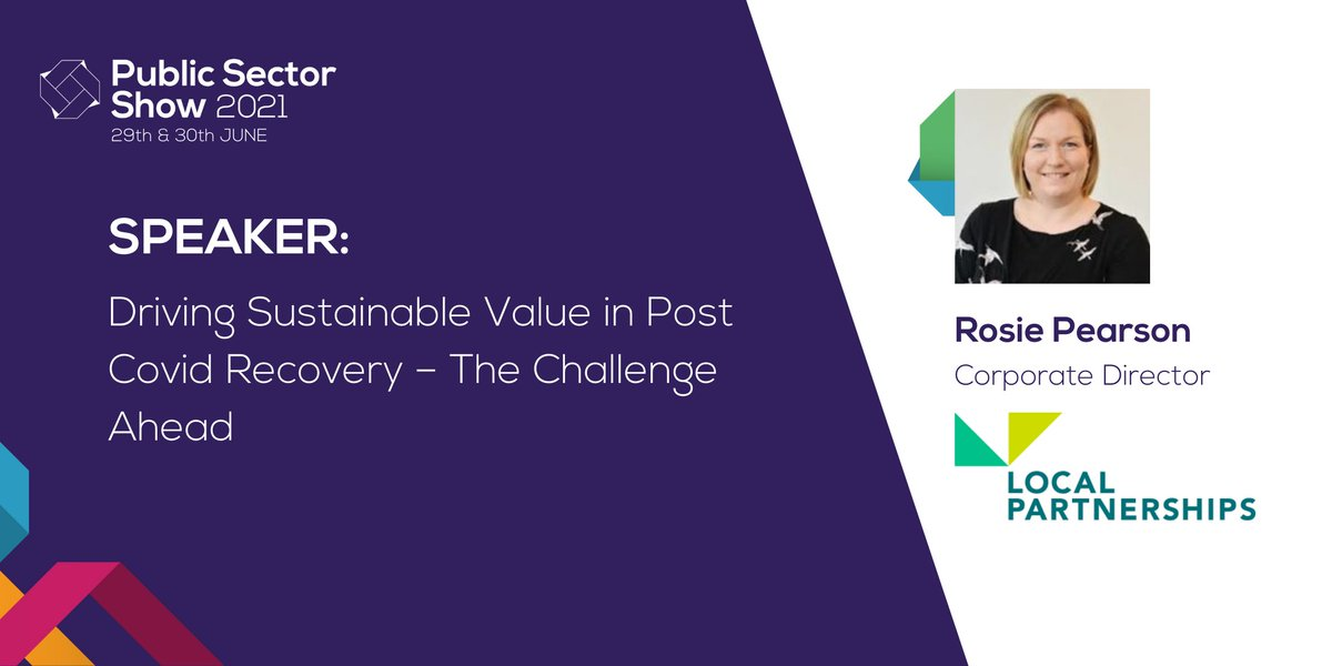 RT @Public_SectorUK How can we drive financial #sustainabillity across #localgovernment? We welcome Rosie Pearson, @LP_localgov, on 29th June to discuss effective, innovative ways to deliver new services across the sector. Tickets are free for #publicsector - get yours here: https://t.co/SkGEW0D9j7