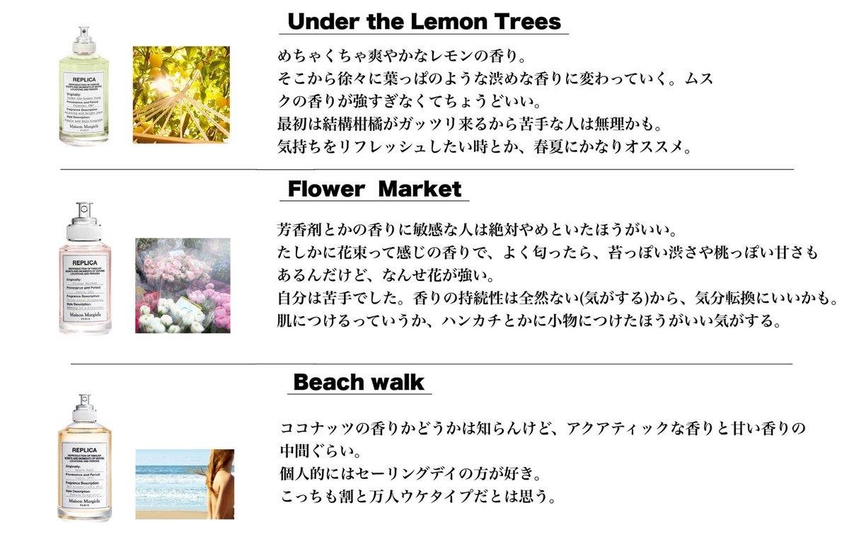 独断と偏見による?マルジェラの香水10種類レビューまとめ!