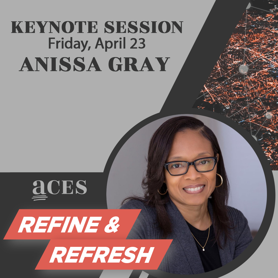 "We're watching Anissa Gray's keynote address on day 2 of #ACES2021Online.  ""Editors are the unsung heroes of writing. ... All the problems you fix are never known to the reading public, but without your work the reading public would be subjected to some pretty bad copy."""