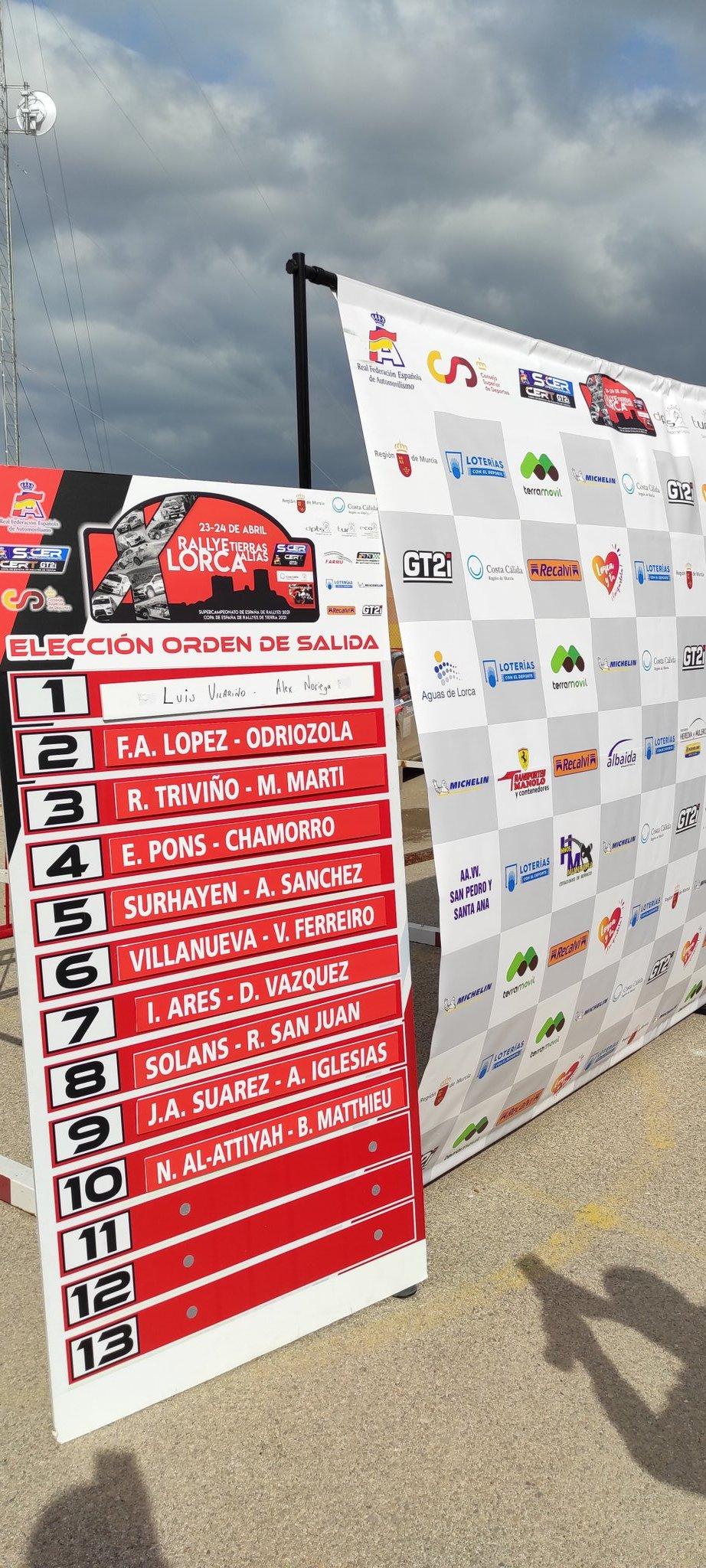 SCER + CERT: 10º Rallye Tierras Altas de Lorca [23-24 Abril] - Página 2 Ezq55FGX0AAB0Qi?format=jpg&name=large
