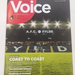 Good to see the @AFCFylde stadium on the front cover of the latest The Voice publication from @Lancschamber. If you get the opportunity to read it, there's an interesting article on their Chairman and how he's trying to put the region on the map.