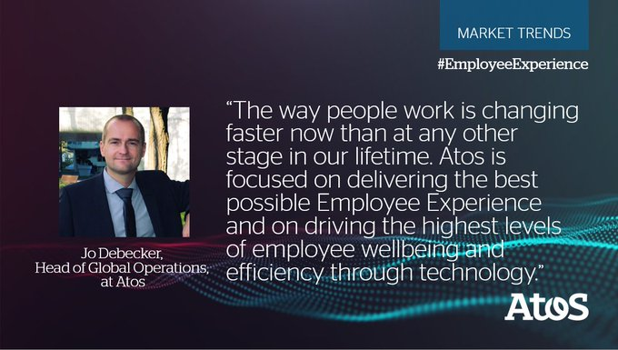 With its holistic workplace services offering, Atos focuses on #EmployeeExperience, with a...