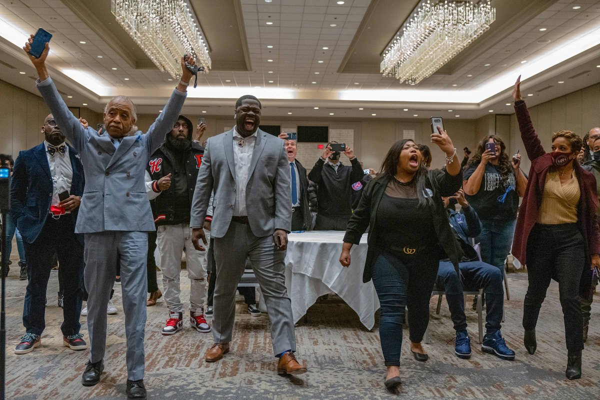 An absolutely incredible photo of George Floyd's family and friends reacting to the verdict. By @ruddyroye for @TIME   https://t.co/kXXemlZKnE https://t.co/WHktfuKpfS