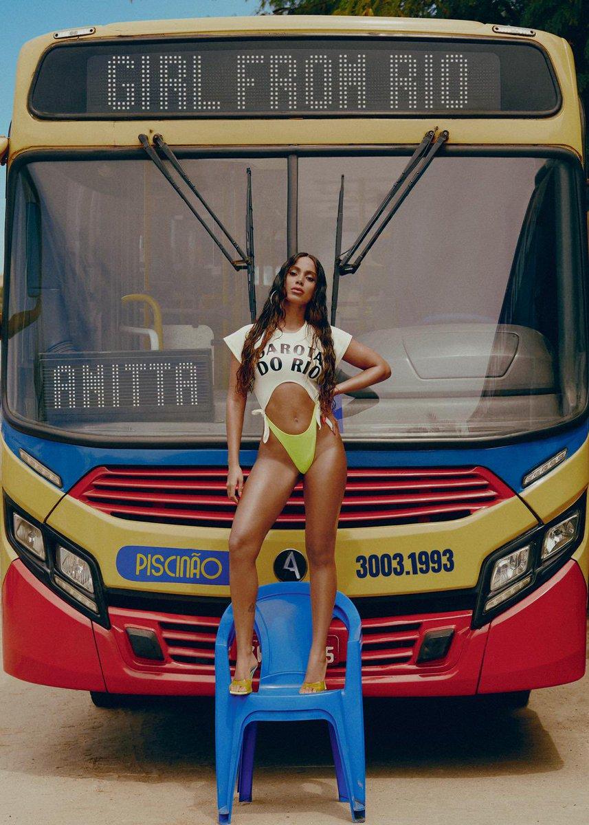 Confira a capa de Girl From Rio Sinle Anitta