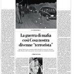 Image for the Tweet beginning: Come cambió la mafia 40
