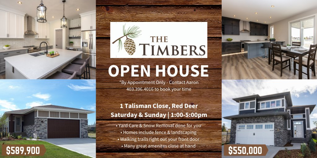 We have 2 FULLY FINISHED homes available in the beautiful east side community of #TheTimbers   #YouCouldLiveHere #BuyNewMoveNow #YQFRealEstate https://t.co/zNa7sJB6JN
