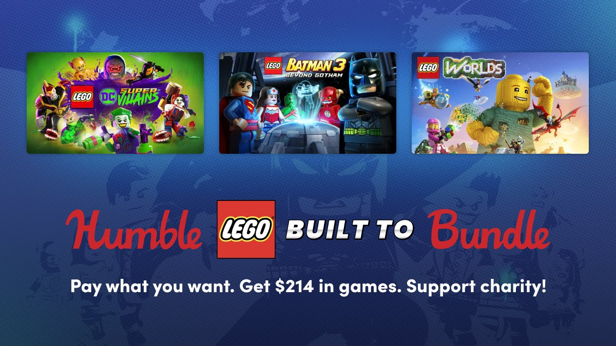 Humble LEGO Built To Bundle