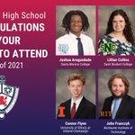 Image for the Tweet beginning: Congrats @olwschoolah alumni, Joshua, Lillian,