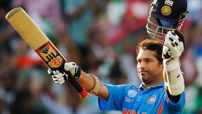 """Happy Birthday to the Master Blaster Sachin Tendulkar. \""""Sachin Tendulkar, What a player, What a wonderful Player\"""""""