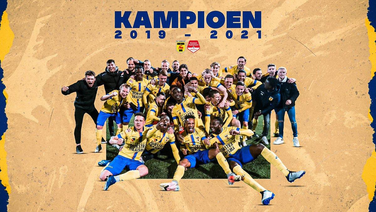 Foot Neerlandais S Tweet Keuken Kampioen Divisie Et On Felicite Encore Sccambuurlwd Qui Apres Avoir Valide Sa Montee La Semaine Derniere Est Le Nouveau Champion De Kkd 2020 2021 Trendsmap
