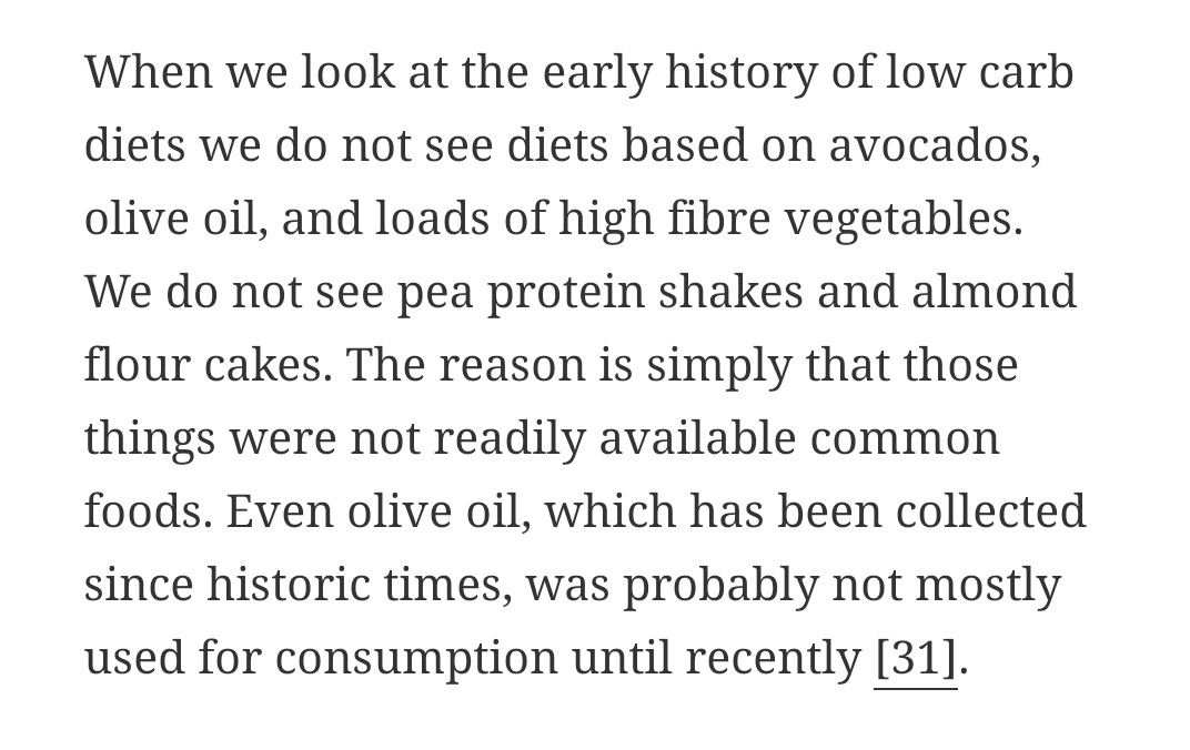 Olive oil is a historically insignificant part of mediterranean diets, which rely heavily on animal fats. It had non-dietary uses mainly, only being eaten by the destitute who couldn't afford animal fats https://facultativecarnivore.com/facultative-carnivore/carbohydrate-restriction-too-much-or-too-little/#id64