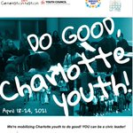 Image for the Tweet beginning: DO GOOD, Charlotte youth! Still
