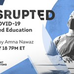 Image for the Tweet beginning: How was education DISRUPTED during